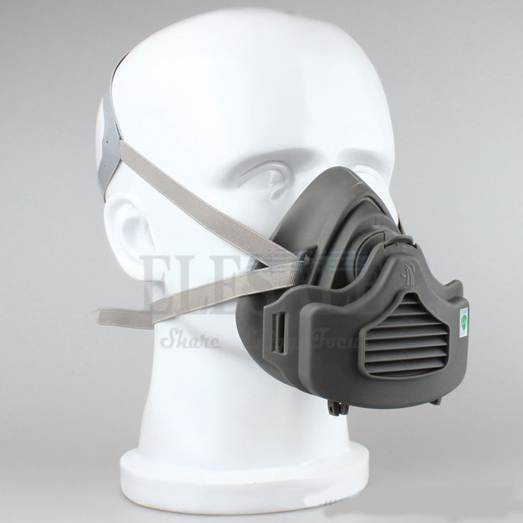 Half Face Dust Mask Dust-Proof Respirator For Builder Carpenter Daily Haze Protection Work Safety Mask 4 Layer Fliter