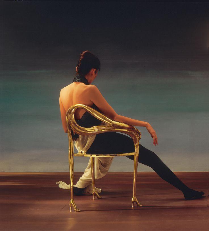 LEDA CHAIR — Salvador Dali, foto Leopold Samsó.