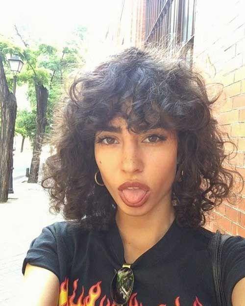 20 Best Curly Short Hairstyles Women 2018