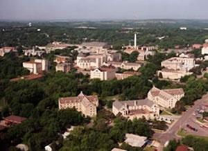 Kansas State University campus. Copyright K-State Photo Services.