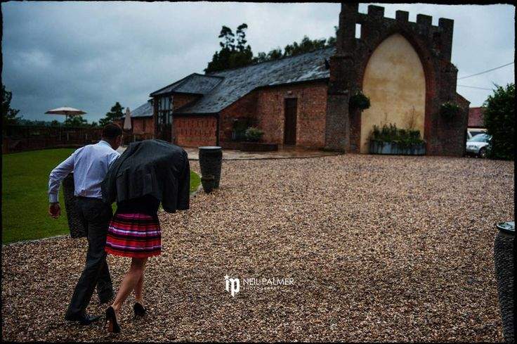 Civil Partnership Photography in Berkshire - a rainy day in July at Wasing Park #rainyweddings
