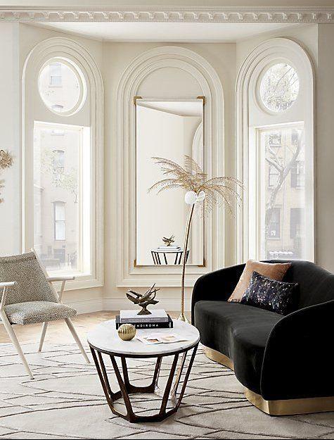cb2 demi acrylic floor mirror 31 5 x75 5 in 2019 pillows mirrors rh pinterest com