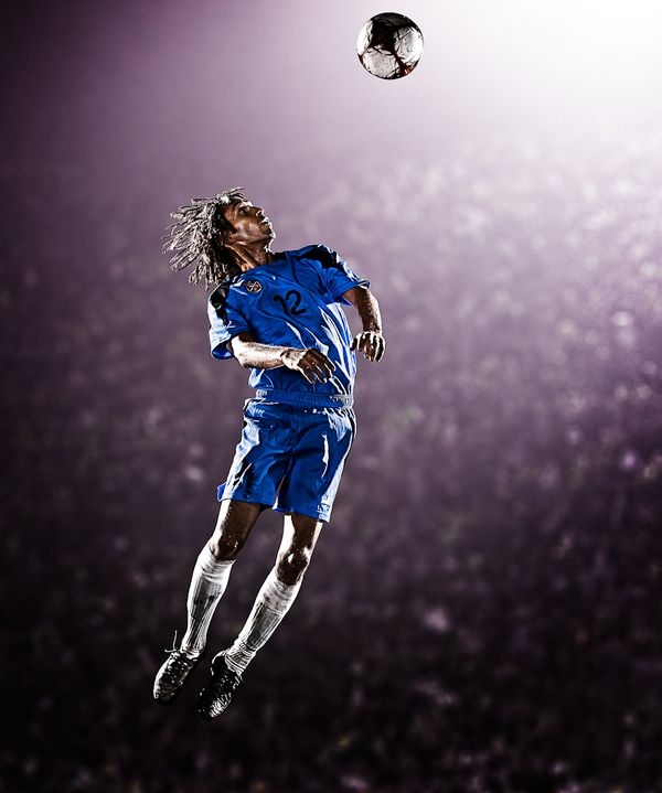 Corbis Soccer Shoot on Behance