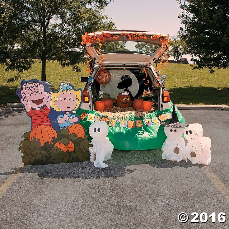 Trunk Halloween Decorating Ideas: 1000+ Images About Trunk Or Treat On Pinterest