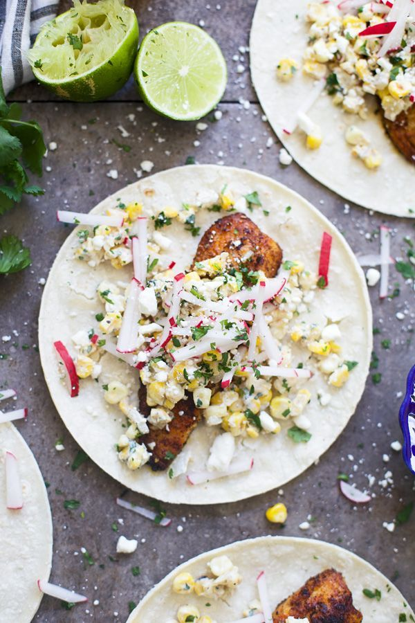 With Cinco de Mayo only a week away, it's time to start thinking about what you're going to eat! These Blackened Tilapia Tacos with Corn Elotes are easy, healthy and the perfect addition to your menu!