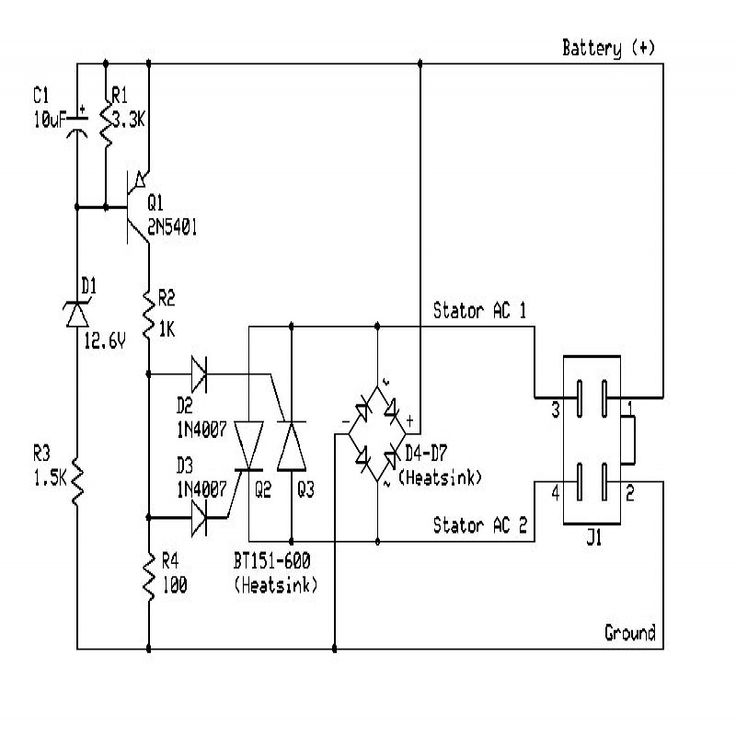 Scr Voltage Regulator Voltage Regulator Circuit Diagram