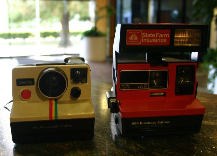 1970's Polaroid One Step Land Camera Cool Hipster Retro Design Perfect For Retro Décor In Your Vintage Inspired Room!