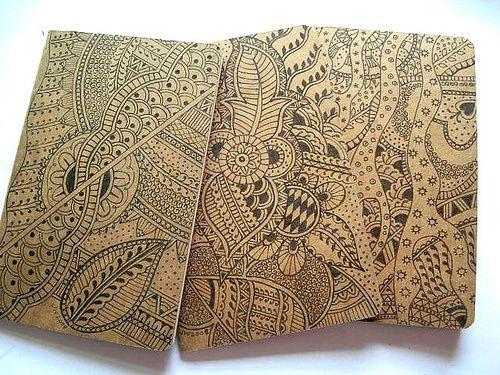 Genuine Moleskine note books by glassprimitif, via Flickr