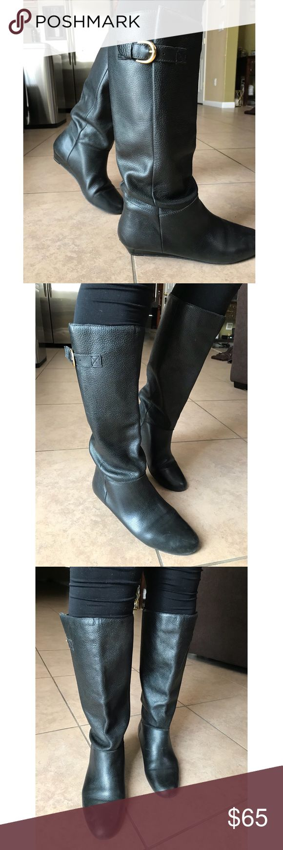 Steve Madden Intyce Rider Boot Thee classic Intyce rider boot. Genuine leather. Pairs great with just about any and everything. This boot is one of the best! I've owned 3 pairs and eventually passed em all down after getting my money's worth. This is the last of the bunch... and they're all yours! Steve Madden Shoes Over the Knee Boots