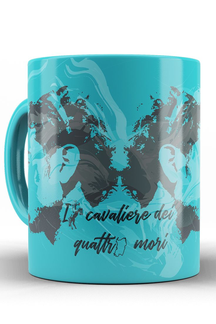 "Ceramic cup with graphic theme of Fabio Aru. Made from the finest quality ceramics. Prints with sharp image and colours. Suitable for all Fabio´s fans, as well as tea and coffee lovers. Theme is inspired by Fabio´s origin and one of his nick name: ""Il Cavaliere Dei Quattro Mori""."