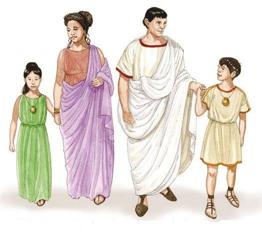 Matrimonio Romano Iustae Nuptiae : Estado de familia consistía en la ubicacion del individuo