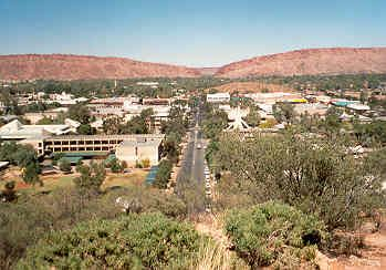 "Alice Springs, Australia. It doesn't look spectacular, but I've wanted to see it since I saw Priscilla, Queen of the Desert. Recently I read a book called ""A Town Like Alice"", loved it, and want to go to Alice even more."