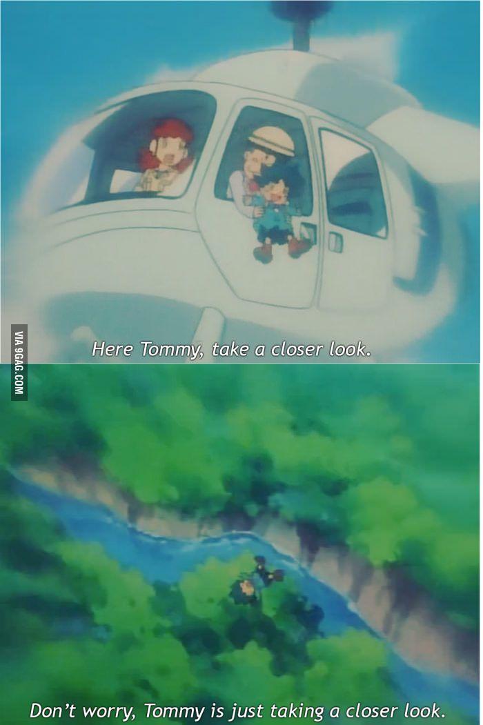 Pokemon was kinda dark