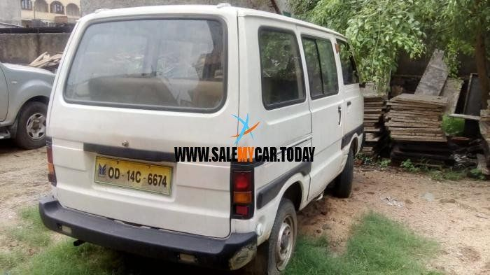 Used Maruti Suzuki Omni Van For Sale In Rourkela Odisha India At