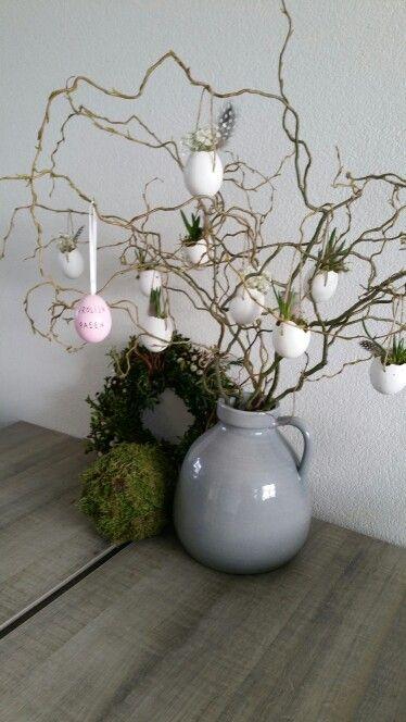 #Paastak met #eitjes @just. #pasen  #easter #decoratie #home