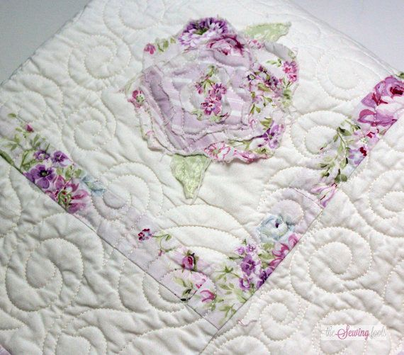 Shabby Chic Roses Baby Quilt Quilts And Patterns