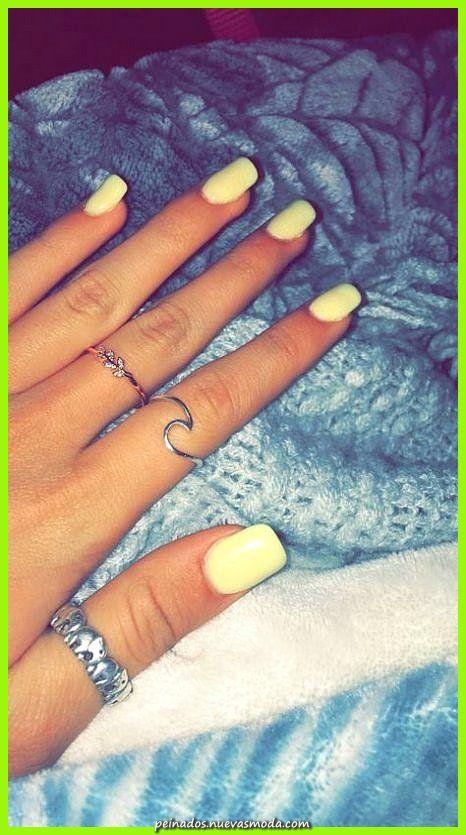 Elegante Más de ideas Nails Yellow Design Instagram