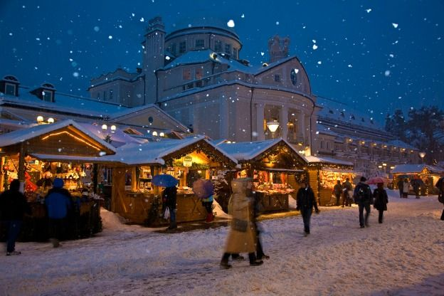 From colorful Christmas markets to one-of-a-kind nativity scenes, you'll feel the spirit of the holidays in these three charming towns.