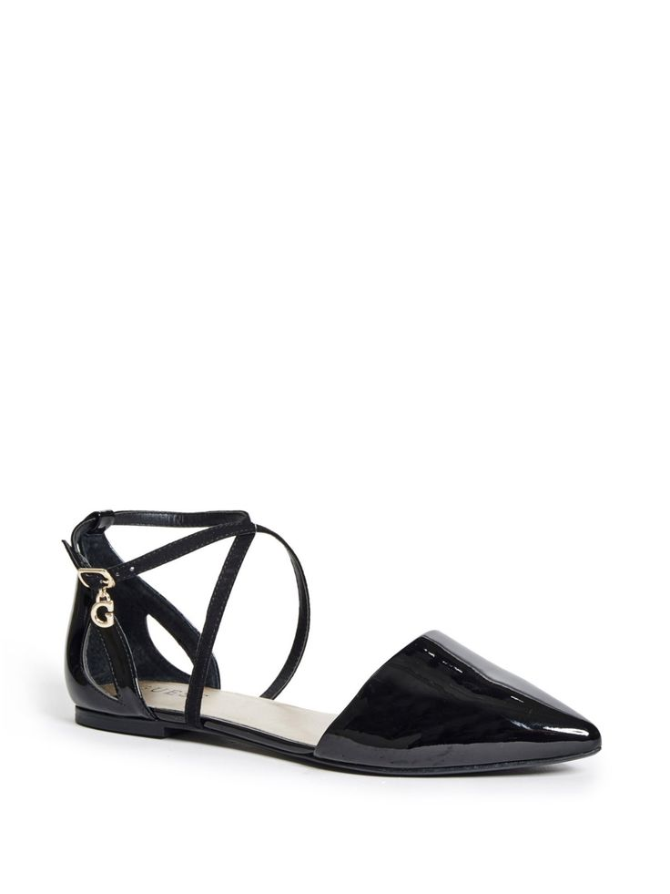 Dylann Ankle Strap Flats