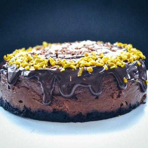Schoko Käsekuchen Rezept Chocolate Cheesecake