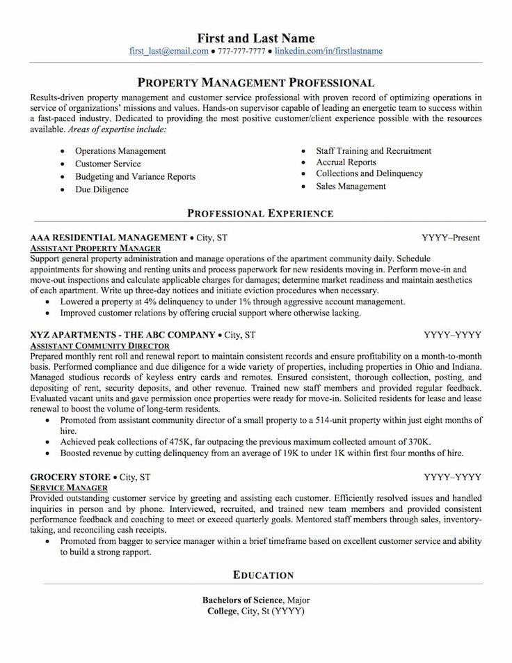 Property Management Resume Examples Beautiful Real Estate