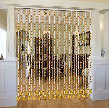 Resultado de imagen para cortinas de cuentas