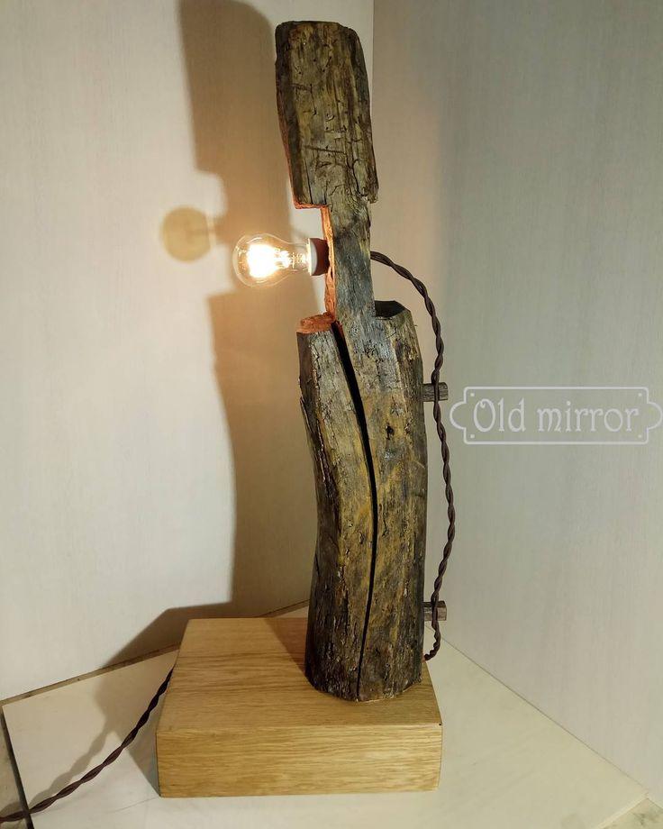 Напольный светильник из дубовой балки - части деревянного дома.  mit unseren Händen gemacht  #мебель #мебельназаказ #дизайн #дизайнер #интерьер #эко #дуб #стараядоска #лофт #дизайнинтерьера #амбарнаядоска #двери #декор #светильники #светильникилофт #лампаэдисона #светильникиподзаказ #светильникручнойработы #подарок #кирпич #лампы #старинныйкирпич #artplay #handmade #gift