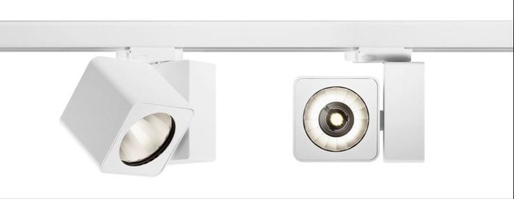 TRILUX Oktalite track mounted LED lighting solution, Fano