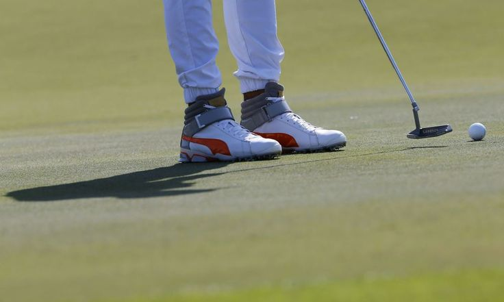 Rickie Fowler golf shoes