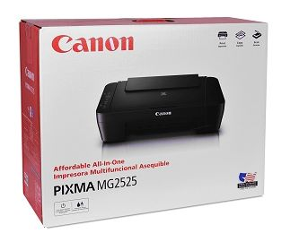Canon PIXMA MG2525 USB 2.0 All-In-One Color Inkjet Scanner Copier Photo Printer w/2 Canon Ink Cartridges