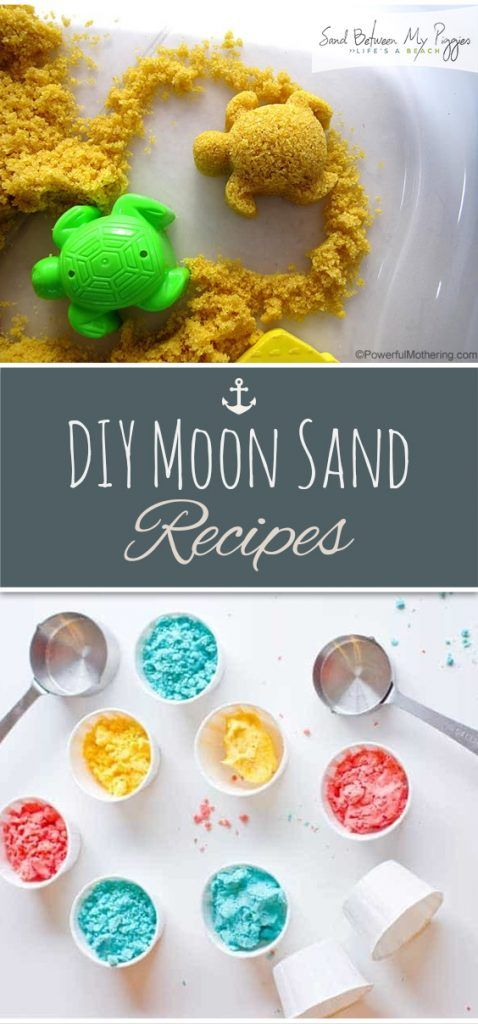 DIY Moon Sand Recipes