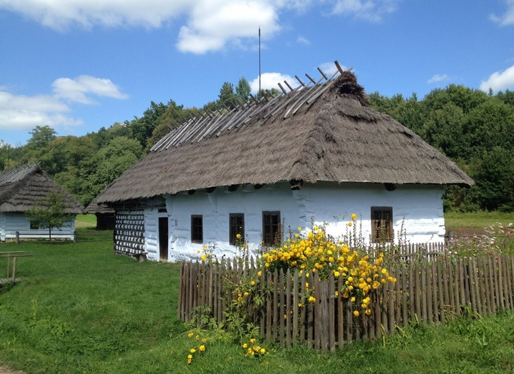 During my recent trip to Sanok, the town where my mother grew up and where I spent many childhood summers, we took a trip to one of the largest open air museums. Skansen museum, established in 1958, recreates 19th and early 20th century life in this region of Poland.