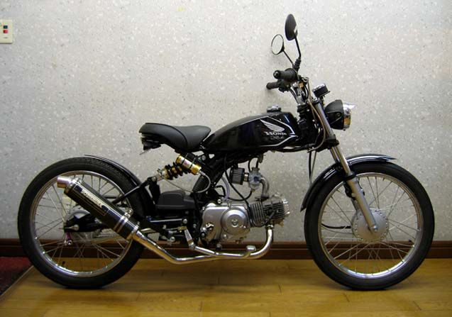 The 50cc Solo is a motorcycle designed for the Japanese commuter and student market,