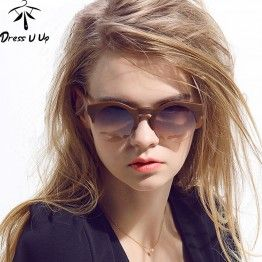 2016 New Women Brand Designer Vintage Sunglasses Woman Semi-rimless Retro Sun Glasses Round Oculos De Sol Masculino Gafas Mujer $16.45 - heading out this summer? Look stunning with our shades!