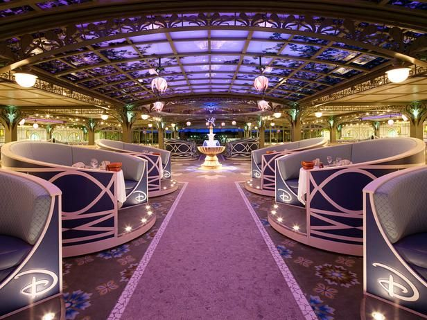 Enchanted Garden - Take an All-Access Tour of the Disney™ Dream Cruise Ship  on HGTV