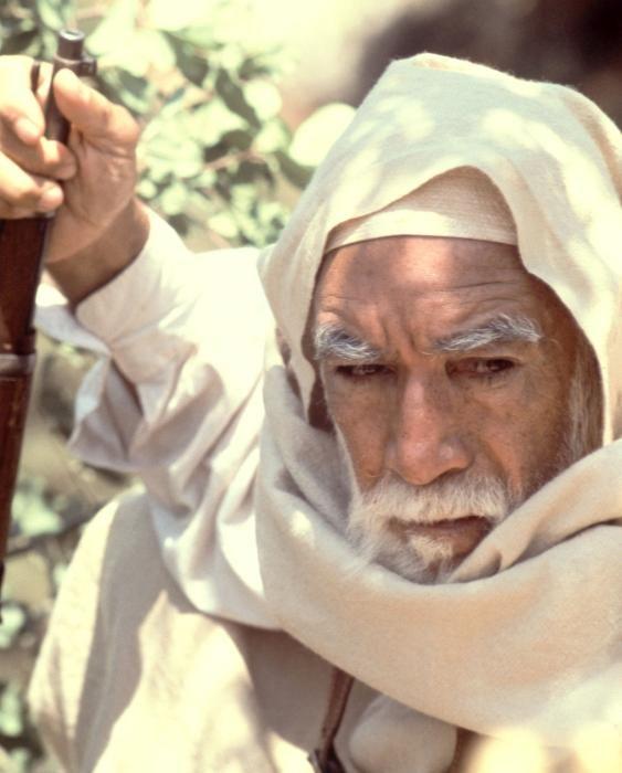 LION OF THE DESERT, Anthony Quinn, 1981, (c) United Film Distribution