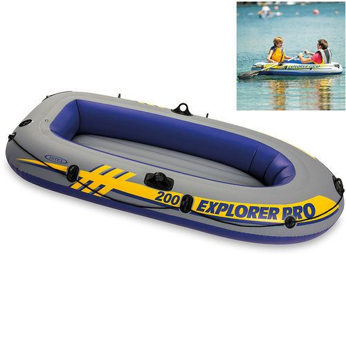 Inflatable-Boat-For-Kids-Oar-Holder-2-Person-Fishing-Lake-River-Pool-Floating