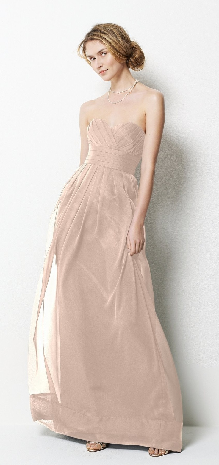 18 best wedding dresses images on pinterest monique lhuillier watters style 9531 bridesmaid dress in apricot the perfect soft peach ombrellifo Images