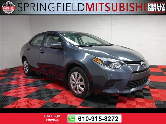 2014 Toyota Corolla L 37k miles Call for Price 37185 miles 610-915-8272 Transmission: Manual  #Toyota #Corolla #used #cars #SpringfieldMitsubishi #Springfield #PA #tapcars