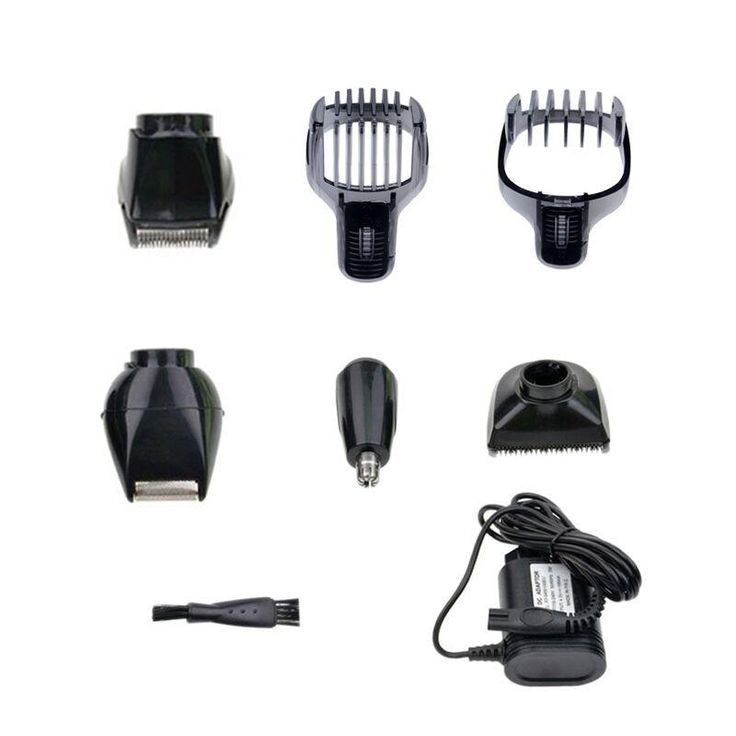 5 in 1 Waterproof Electric Hair Clipper Kemei Professional Hair Trimmer Shaver Beard For Men Waterproof Family Haircut Tool #55