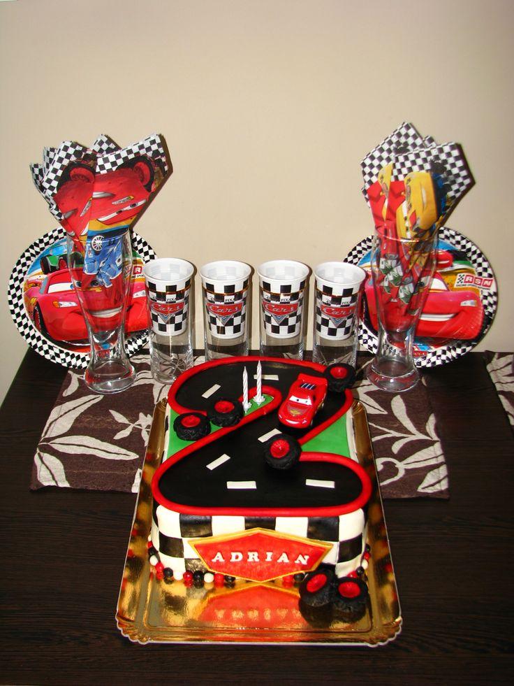 Cars cake for Adrian's 2nd birthday XV