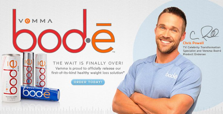 Vemma / There is a new weight loss product endorsed by Chris Powell of ABC's Extreme Makeover | Weight Loss Edition. It's called Bod-e. You can read more about it here: http://verve911.com