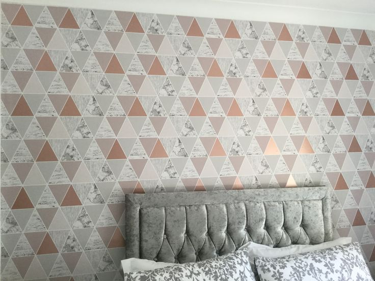 Bedroom, Wallpaper Of The Year, Rose Gold Reflection, Graham And Brown, Grey Part 98