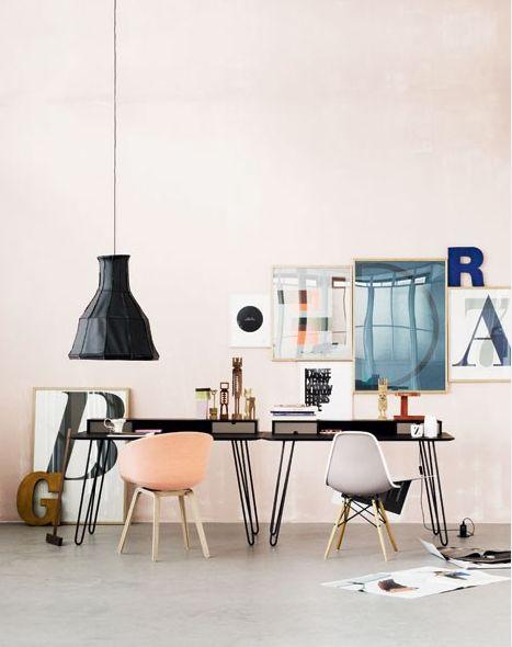 pastelsInspiration, Studios, Chairs, Offices Spaces, Interiors Design, Work Spaces, Workspaces, Desks, Home Offices