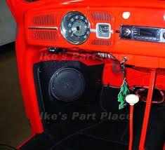 Résultats de recherche d'images pour «vw super beetle audio system»
