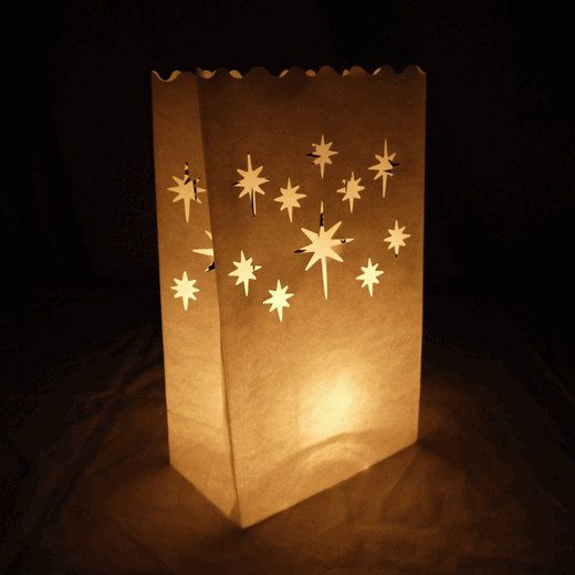 Luminary Bags for Holiday Party Event Winter Wedding by BonFortune, $10.00