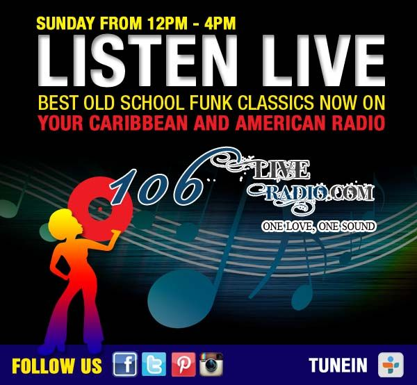 Caribbean Sound Caribbean Sound: Pin By 106LiveRadio .com On The Best Old School Funk
