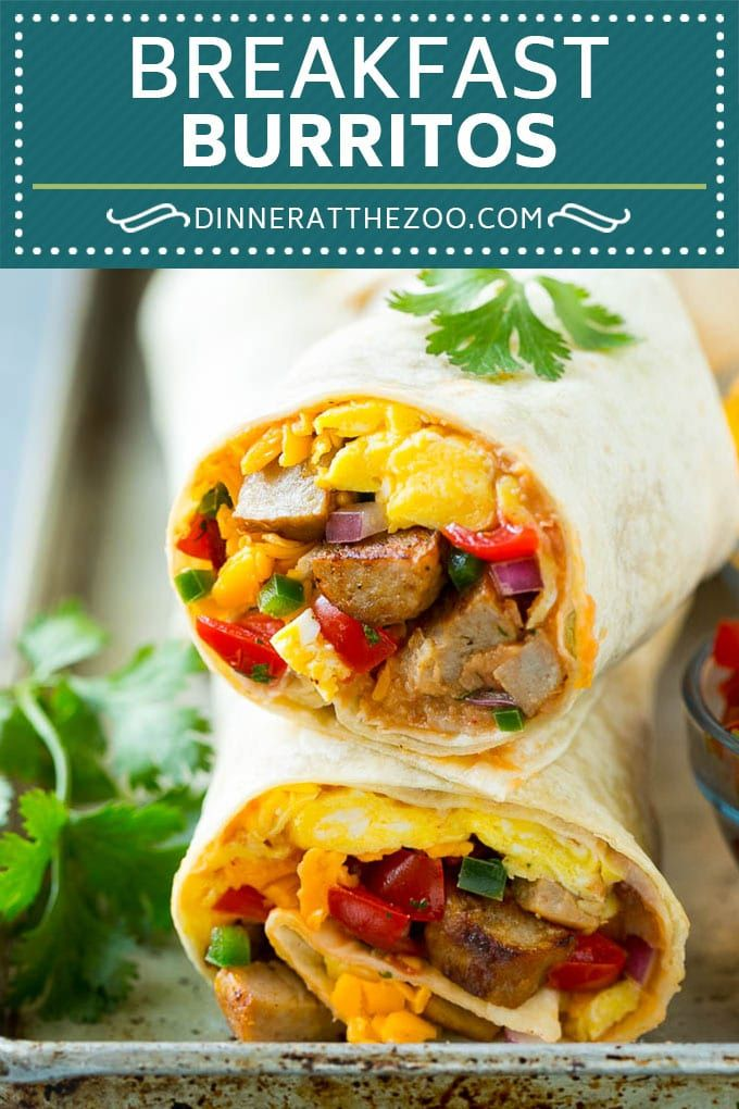 Breakfast Burrito Recipe Sausage Breakfast Burrito