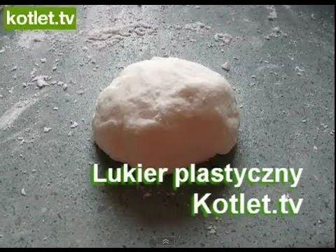 Lukier plastyczny tylko do kremu na bazie masła, nie do śmietany i budyniowych