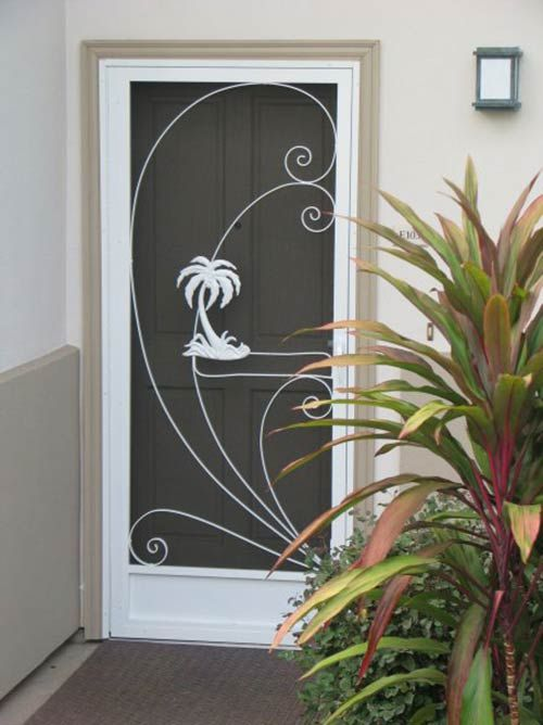 2 18 styles screen door inserts with herons flamingos and more